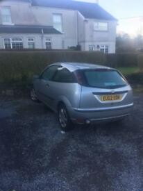 Ford Focus 80k miles only 2 owners from new