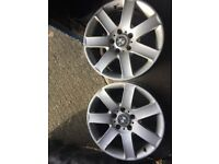 Alloys bmw 17'' one pair