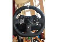 Logitech Driving Force G920/PC Racing Wheel/Driving Pedals/Driving Force Shifter Wheel Stand Pro