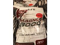 Protein mass builder muscle gain 2 huge bags supplements
