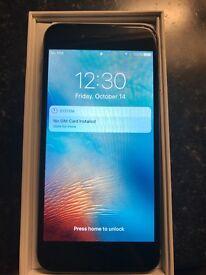 Apple Iphone 6 64gb space grey unlocked