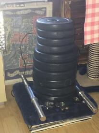 21kg dumbells/weights