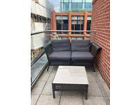 Outdoor Rattan Sofa - IKEA