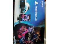 Playstation Vr bundle complete with games
