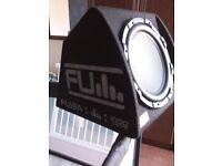 FLi Underground subwoofer and amplifier