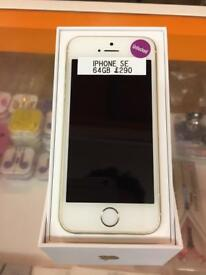 iPhone SE, Gold, 64gb, unlocked