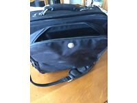 Dell, laptop bag.