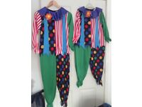 Clown fancy dress costumes