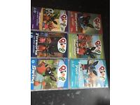 Bing and tree fu DVDs