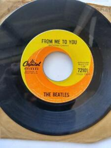 Rare MCCARTNEY-LENNON Name Reversal BEATLES Record From Me to You Capitol Canada