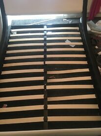 Selling double bed with foam mattress