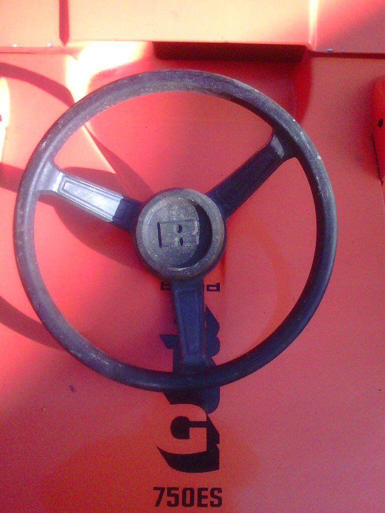 reliant rielto steering wheel