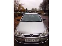 2004 Vauxhall Corsa C 1.0 i Life 5doors. Low mileage, very good condition.