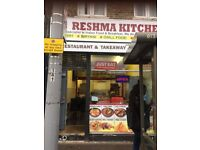 Restaurant and Take away to Let on High Road Leytonstone