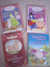 ANGELINA BALLERINA - 3 DVDs and Audio CD