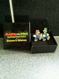 Limited edition Mario & Luigi pin badge set