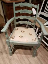 Childs carver style chair