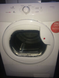 CONDENSER DRYER HOOVER VISION HD 8 KG ...FREE DELIVERY