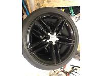 Audi A5/S5 alloy wheels and tyres 255/35/19