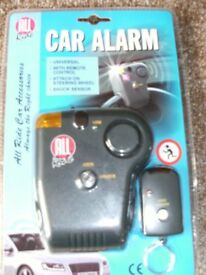 CAR ALARM (Brand New)
