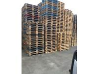 Pallets available standard size