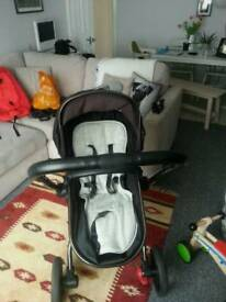 Mothercare Orb Pushchair and Maxicosi Pebble car seat