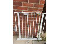 Hauck stair gate with and extension