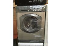 HOTPOINT AQUARIUS free standing washing machine silver nice condition & perfect working order