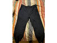 Moss suit trousers