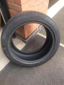 2x BMW Kumho sport tyres
