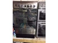 INDESIT STAINLESS STEEL 50cm ELECTRIC COOKER, EXCELLENT CONDITION