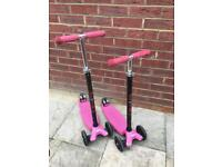 2 x Micro Scooters Maxi