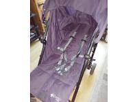 Purple Redkite quatro pushchair