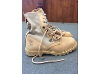 Woman's brand new adventure boots size 5