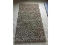 Biscuit colour Shaggy rug