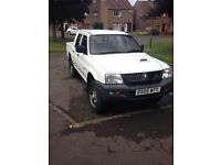 Mitsubishi L200 4work lwb pickup LOW miles