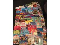 59 childrens books, either new or excellent condition