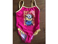 Girls 5-6 years swim wear