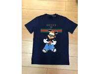 mens gucci t shirts various designs sizes s-xxl