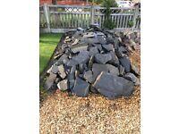 Garden/Landscaping Stone Quality Blue/Grey slate