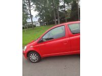 Toyota Yaris, MOT to Aug 19. Very reliable, new break discs and pads. Few age related marks.