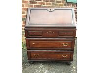 Bureau Bookcase - Writing Desk - Cabinet - As it is or Project? - Reduced