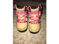 Gorgeous unisex Firetrap baby shoes Infant size 3