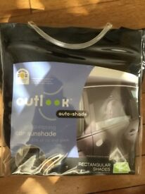 Car Auto sunshade (twin pack) by Outlook NEW