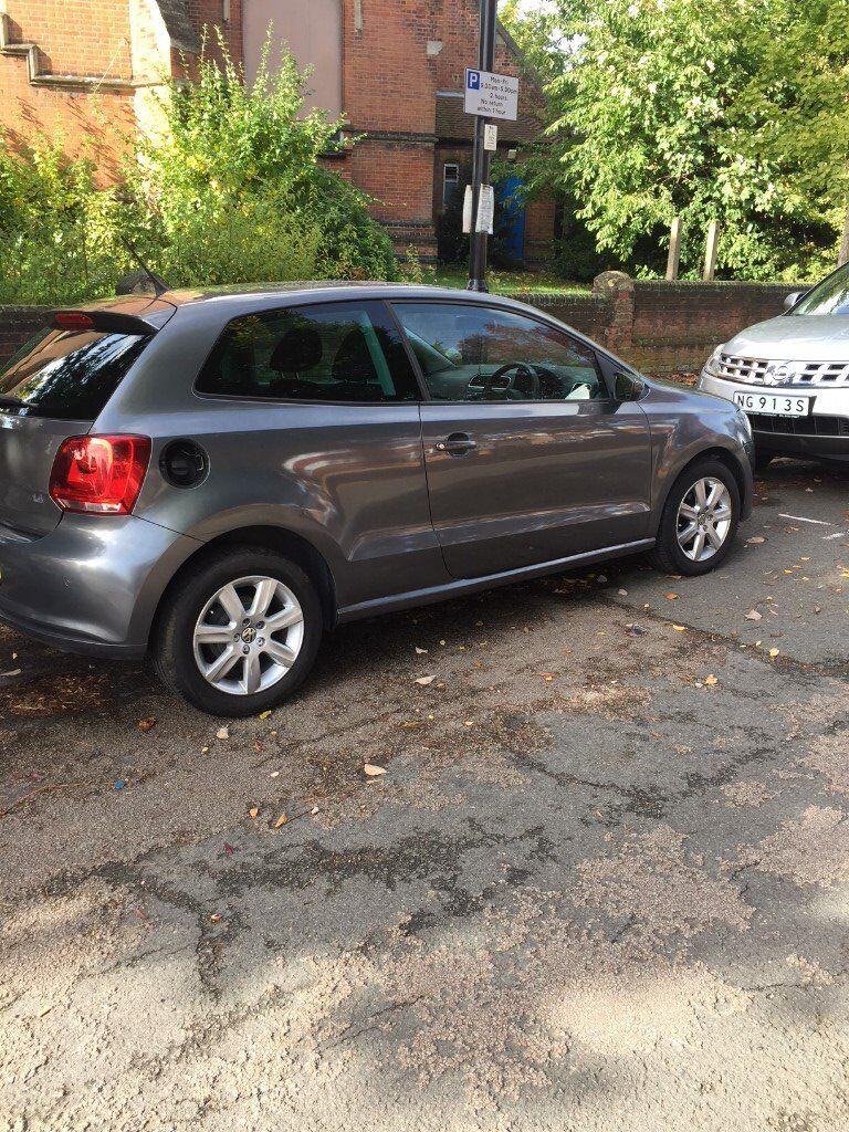 VW Polo 61 Plate, 3 doors, Kenwood Sat Nav and CD, 37,000 miles, 3 door, 1 year MOT, Grey