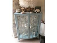 Shabby Chic Display Cabinet
