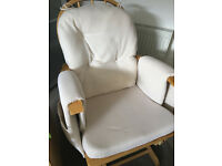 Nursing glider chair with footrest SOLD