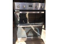 Hotpoint double integrated oven (DH93x) stainless steel & glass, VGC