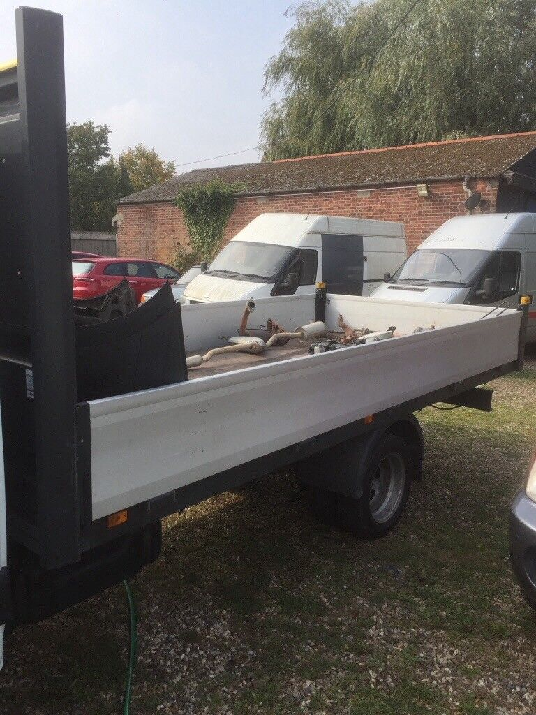 Ignamix Truck body of a iveco daily 3.5