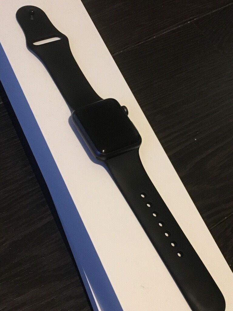 Apple Watch Series 1 (2016) 38mm sportin Greenhithe, KentGumtree - Apple Watch Series 1 (September 2016) MP022B/A 38mm sport black Rarely worn, free of scratches in perfect condition. Comes with USB cable, excluding plug though can use iphone charger. £200 ono prefer pickup
